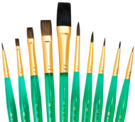 Royal & Langnickel Super Value Brush Set 2 open