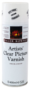 Daler Rowney Artists' Clear Picture Varnish Aerosol CFC free
