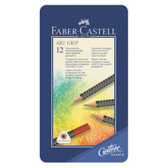 Faber Castell Art Grip Pencils Tin of 12