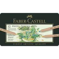 Faber Castell Pitt Pastel Pencils Tin of 12