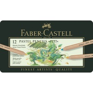 Faber Castell Pitt Pastel Pencils Tin of 12