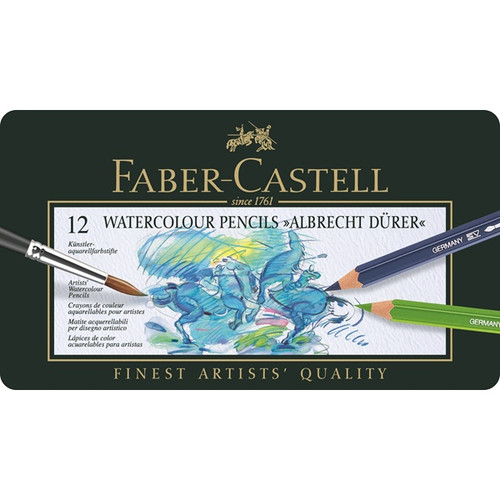 Faber Castell Albrecht Durer Watercolour Pencils Tin of 12