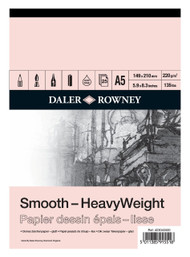 Daler Rowney HeavyWeight Drawing Pads - Smooth