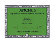 Arches Aquarelle Blocks - Cold Pressed / NOT (Fin)