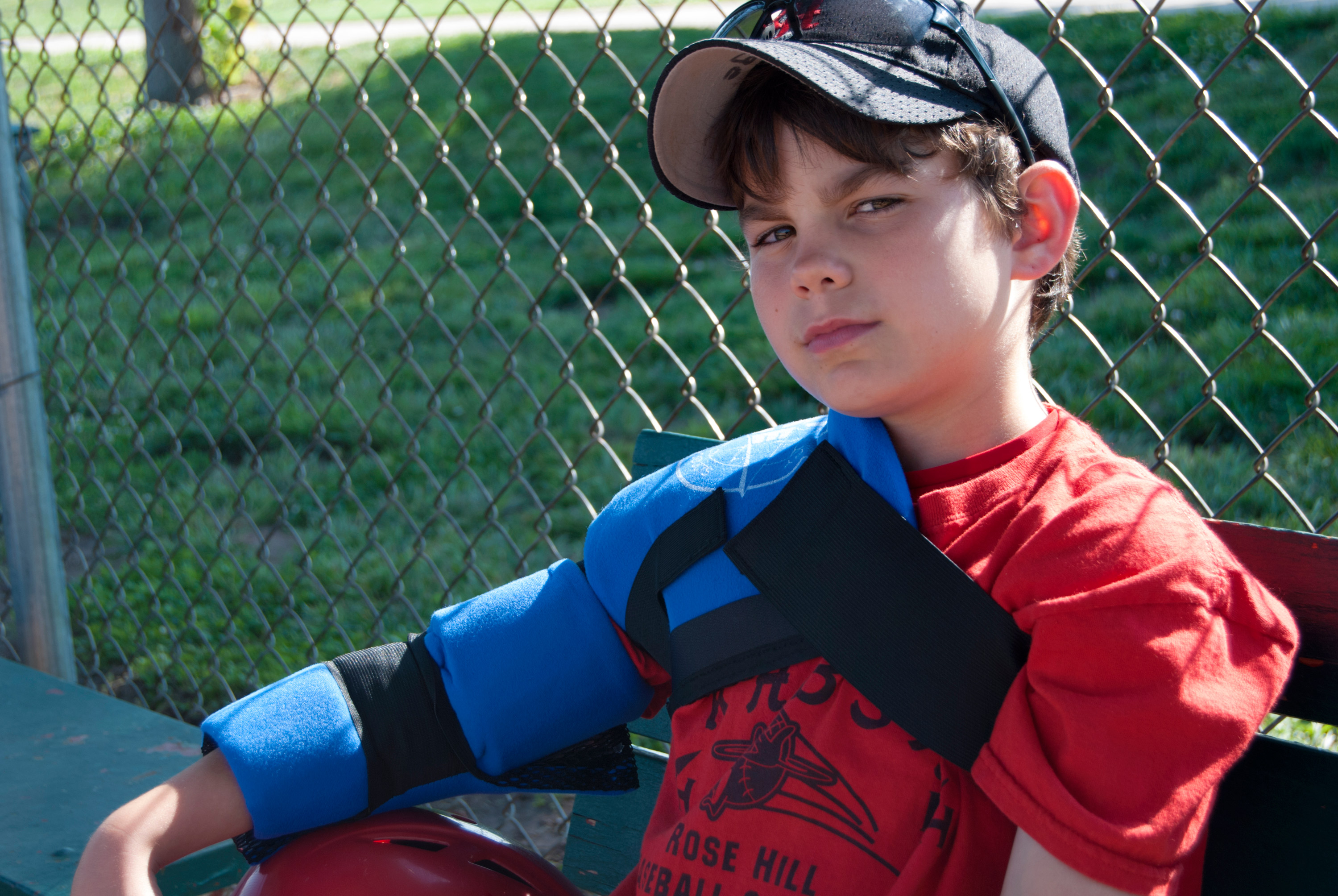 Youth Pitchers Shoulder & Elbow Ice Wrap- pi220 - Pro Ice, The Best Youth Pitchers Ice Wraps On The Planet!