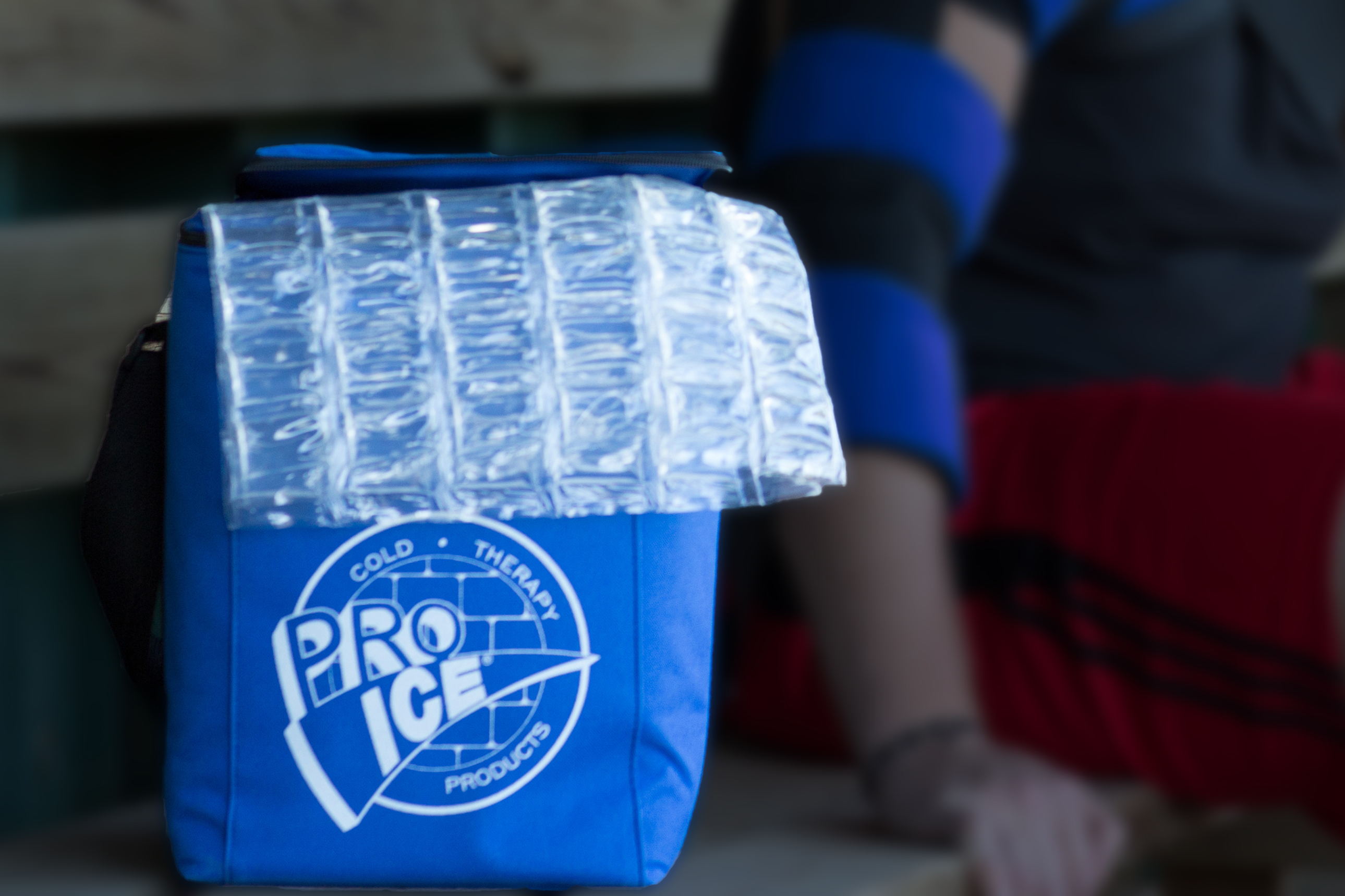 Portable Travel Coolers For Pro Ice Wraps.  Keeps Your Ice Pack Cold At The Field.