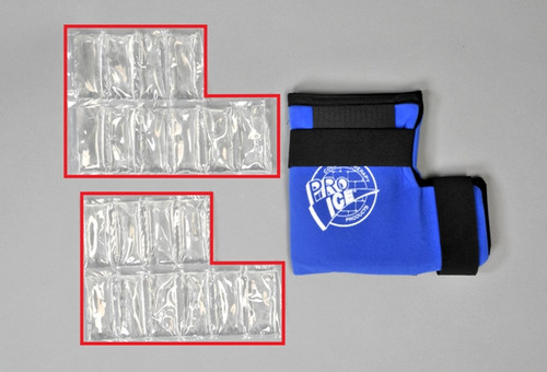 PI501 extra / replacement ice inserts for the Pro Ice PI500 ankle wrap- package