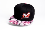 "MUGEN ""M"" LOGO HAT (BLACK/PINK FLAG)"