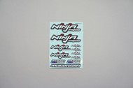 JX19004 JX NINJA ENGINE DECAL