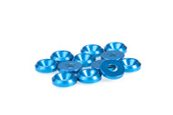 FP2112 FP 3mm Blue Countersunk Washers (12 pcs)