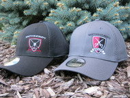 Get into the game without losing your cool. Spacer Mesh panels on hat  allow cooling ventilation on even the warmest days. Charcoal with left panel Soccer Shield or Black with Soccer Shield embroidery. Adult sizes. Please specify Small/ Medium or Medium/ Large