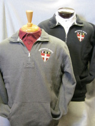 Shield 1/4 Zip Sweatshirt