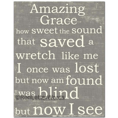 Amazing Grace Wall Art amazing grace | faith inspired & bible verse art | christian home