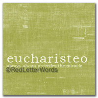 Eucharisteo - Cards