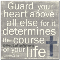Guard Your Heart - Boys