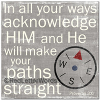 Proverbs 3:6 - Boys