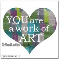 The Masterpiece Mom -  Ephesians 2:10 Big Heart