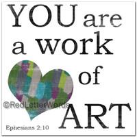 The Masterpiece Mom -  Ephesians 2:10