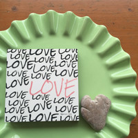 Love Love Love - 5x5 Cafe Mount