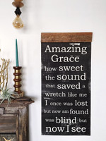 Amazing Grace - Scroll