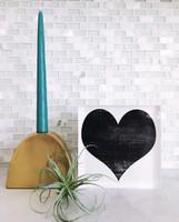 Heart - 6x6 Acrylic Block