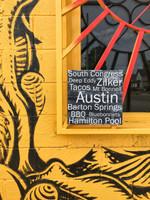 Austin - 12x12 Black Cafe Mount *SALE*
