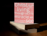 Shellie Rushing Tomlinson - Christ In Us - 5x5 Coral Cafe Mount *SALE*