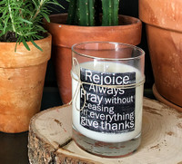 Thessalonians 5:16 - Candle