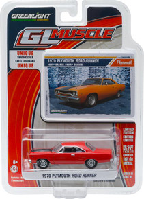 1:64 GL Muscle Series 16 - 1970 Plymouth Road Runner
