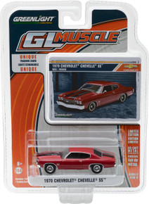 1:64 1970 Chevrolet Chevelle SS454 - Red