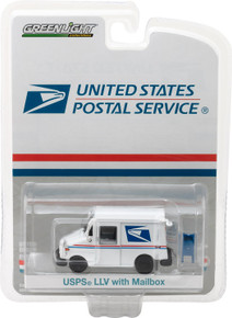 1:64 United States Postal Service (USPS) Long-Life Postal Delivery Vehicle (LLV) with Mailbox Accessory (Hobby Exclusive)