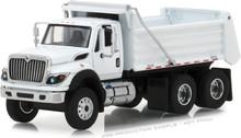 1:64 S.D. Trucks Series 4 - 2018 International WorkStar Construction Dump Truck - White