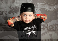 Metallikid Rocker Tattoo Tee Shirt