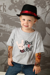 Rock N Roll tattoo sleeve shirt