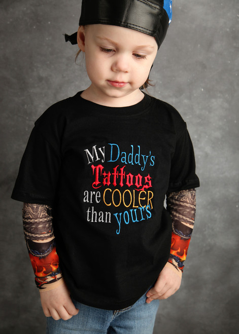 My Daddy's Tattoos are cooler than yours shirt