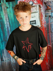 Tattoo Sleeve Graffiti Star Shirt