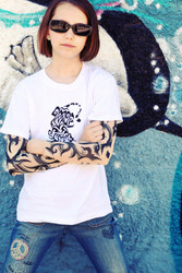 Tribal Tiger Tattoo Sleeve Shirt