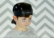 Bandana Personalized Faux Leather Do Rag
