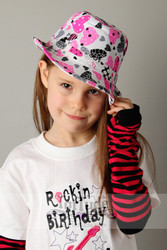 Toddler Girls Fedora Hat