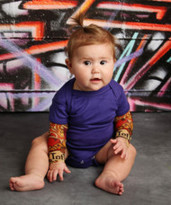 TotTude tattoo sleeve onesie