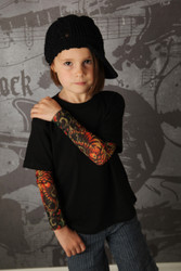 Tiger tattoo sleeve tee