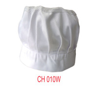 Chef Hat With Net White