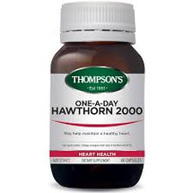 Thompson's One-A-Day Hawthorn 2000 - 60 Capsules