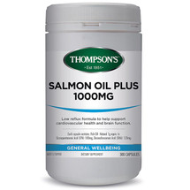 Thompsons Salmon Oil Plus 1000mg  - Capslules