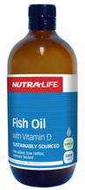 NutraLife Fish Oil with Vitamin D - 500ml