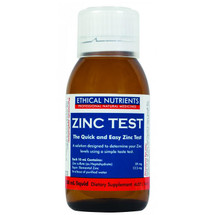 Ethical Nutrients Zinc Test
