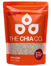 CHIA, THE CHIA CO,   White Chia Seeds - 500g