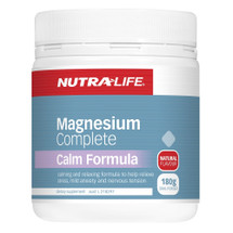 NutraLife Magnesium Complete Calm - 180g Oral Powder