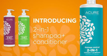 Acure Organics - 2 in 1 - Shampoo & Conditioner - 709ml - Various