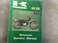 1974 1975 1976 1977 1978 KAWASAKI KE125 KE 125 Service Repair Shop Manual OEM x